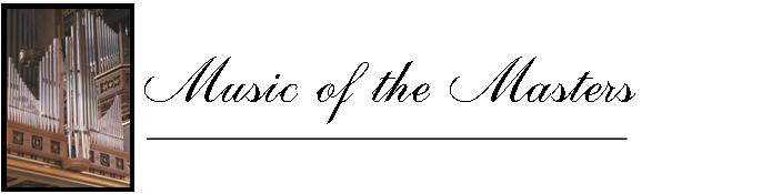 Music of the Masters Logo